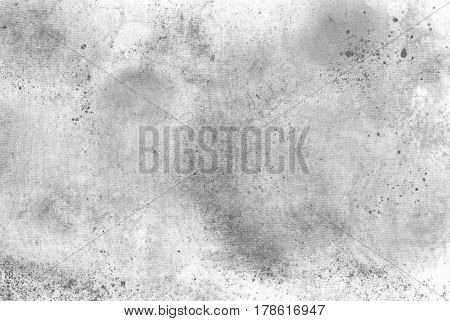 Stained canvas texture background with copy space