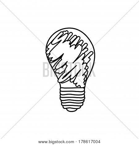 abstract energy bulb power , vector illustration design