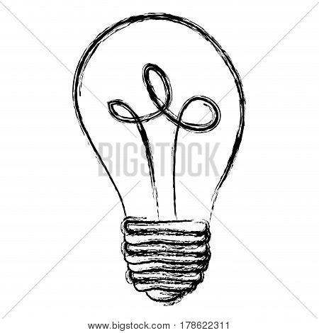 energy bulb power icon, vector illustration design