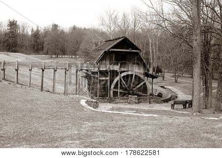 Grist Mill, Fowler park Indiana