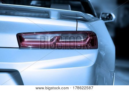 Tail lamp of sports car