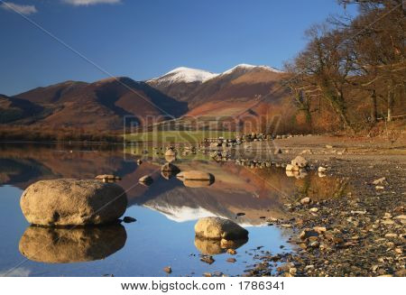 Snowcapped Reflections