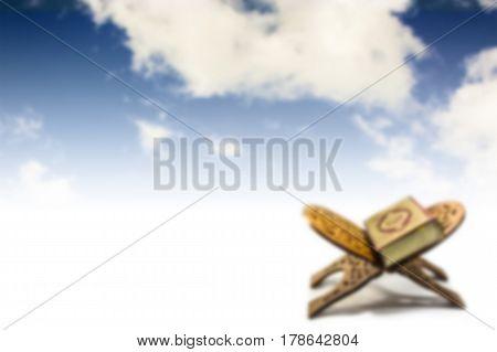 koran with sky , koran with sky background