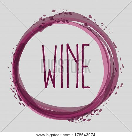 wine bubble liquor beverage, vector illustration design