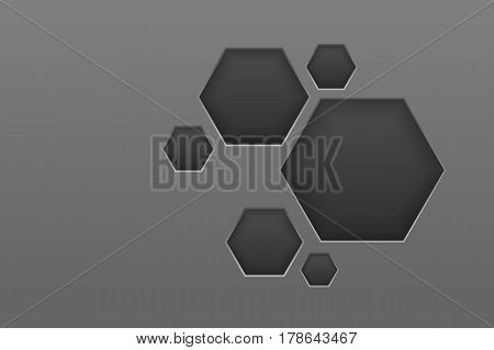 technology modern gray background vector abstract .