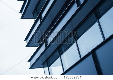 New Building Facade, Abstract Fragment
