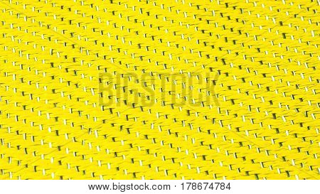 lettuce green - Yellow Texture. Wire and Venyl netting. bright colours