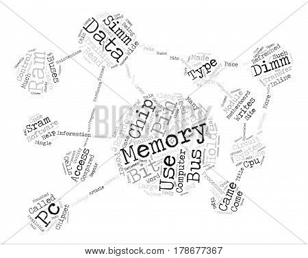 How To Understand Your Computer s Random Access Memory text background word cloud concept