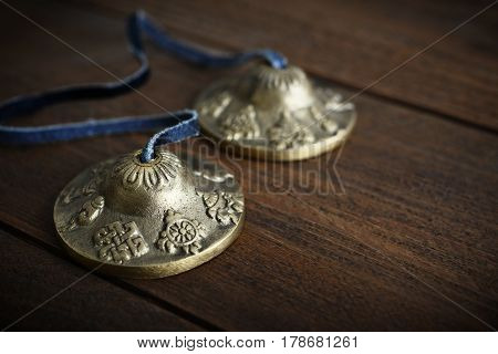 Tibetan Ting Sha Ceremonial Bells