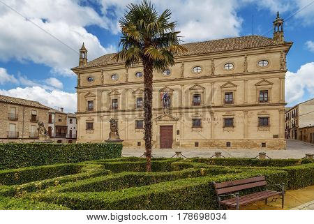 The Vazquez de Molina Palace also known as the Palace of the Chains is a renaissance palace located in Ubeda Spain