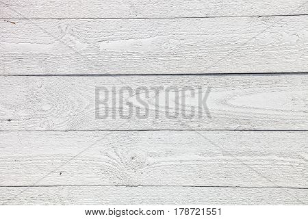 Rustic White painted wooden planks background