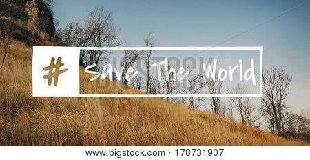 Save The World Environment Eco Word
