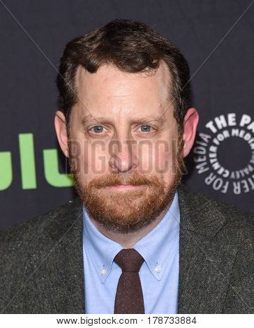 LOS ANGELES - MAR 17:  Scott M. Gimple arrives for the PaleyFest 2017-The Walking Dead on March 17, 2017 in Hollywood, CA