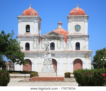 San Fulgencio's Church At Gibara, Cuba.