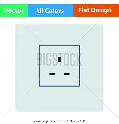 Great Britain Electrical Socket Icon