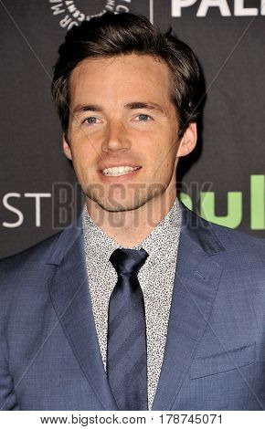 Ian Harding at the 34th Annual PaleyFest Los Angeles presentation of 'Pretty Little Liars' held at the Dolby Theatre in Hollywood, USA on March 25, 2017.