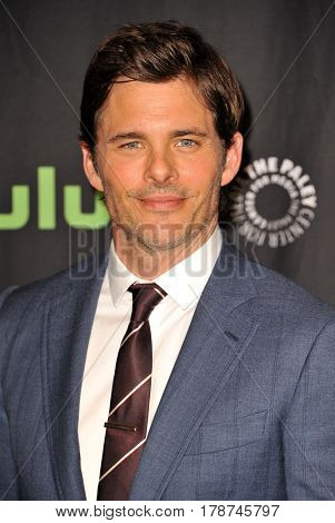 James Marsden at the 34th Annual PaleyFest Los Angeles presentation of 'Westworld' held at the Dolby Theatre in Hollywood, USA on March 25, 2017.
