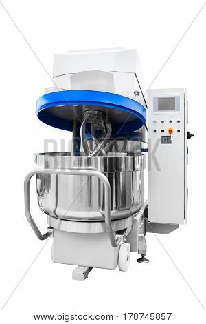 Large Industrial dough mixer machine in bakery