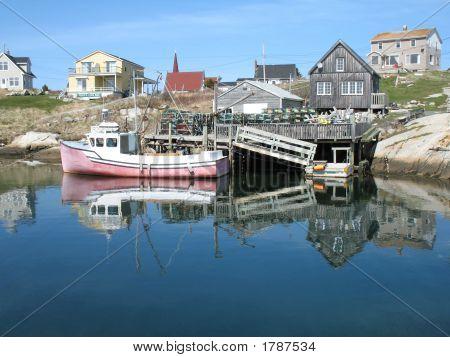 Peggys Cove Cape Islander Boat