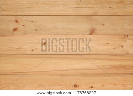 Plank wood wall background. Natural larch tree texture