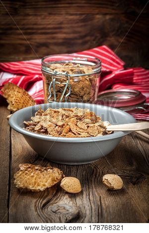 Bowl Of Cereals.