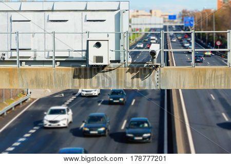 Hidden Traffic Radar Speed Enforcement
