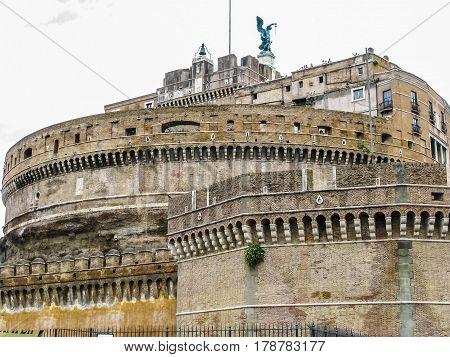 Hdr Castel Sant Angelo Rome