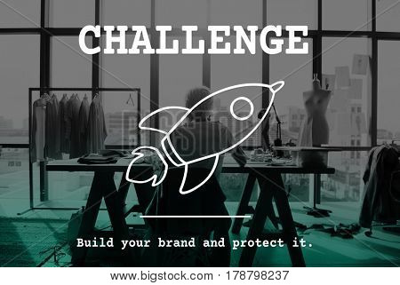 Business Start up Challenge Concept