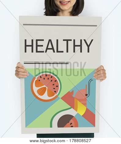 Healthy Food Clean Diet Concept