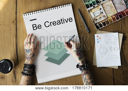 Creative Design Imagination Inspiration 3D Paper