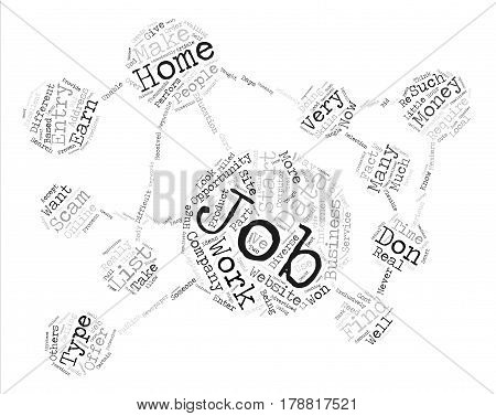 Legitimate data entry jobs text background word cloud concept