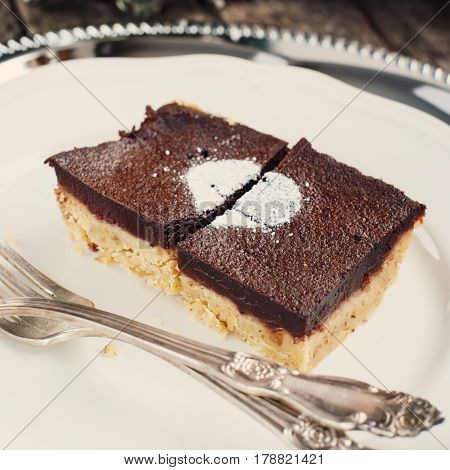 Chocolate Wet Brownie Cake