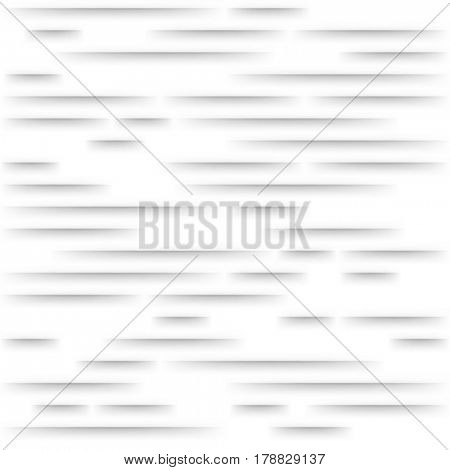 White Seamless Line Background Texture. Illustration