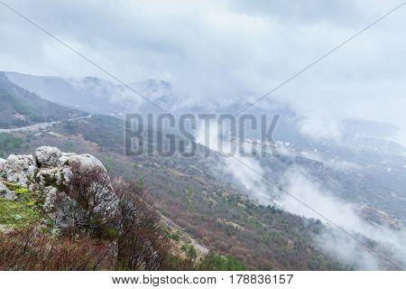 Crimea. Coastal Landscape Of Laspi