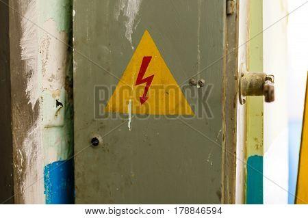 Old High Voltage Cabinet