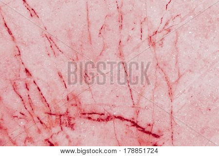 Red marble patterned texture background, Detailed genuine marble from nature, Can be used for creating a marble surface effect to your designs or images.