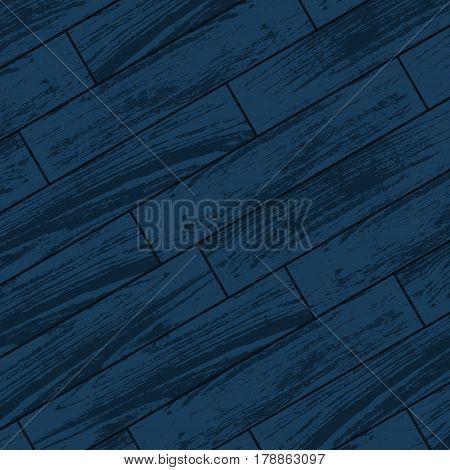 Abstract dark blue parquet or laminate background