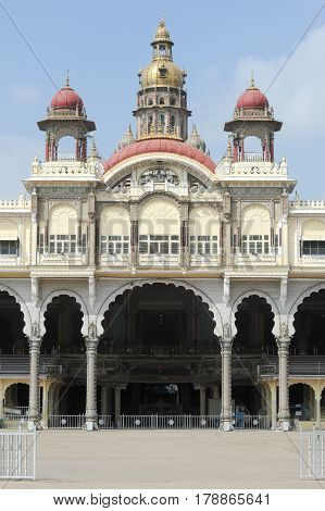 Detail Of The Ancient Mysore Palace