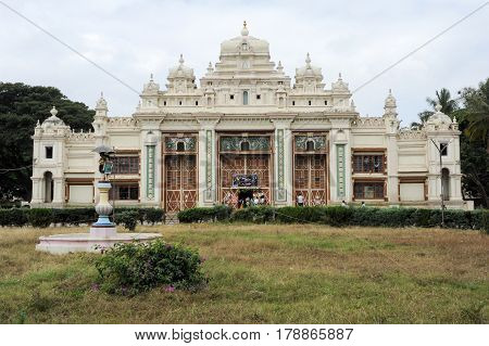 The Colonial Building At Mysore On India