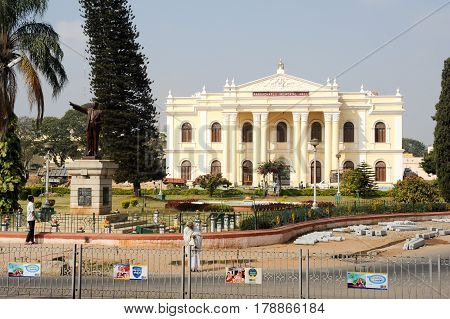 Rangacharlu Memorial Hall Is The Town Hall Of Mysore