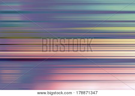 Graduated purple and orange speed blur stripes background