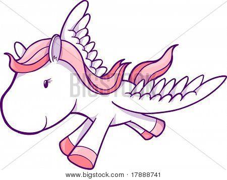 Vector Illustration of Pegasus