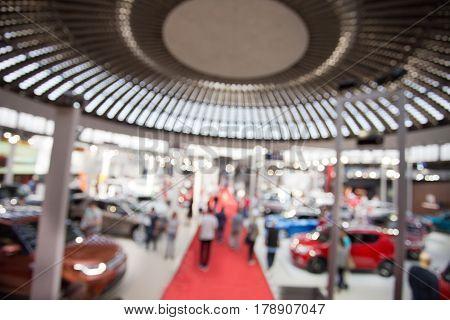 Car Fair Blurred