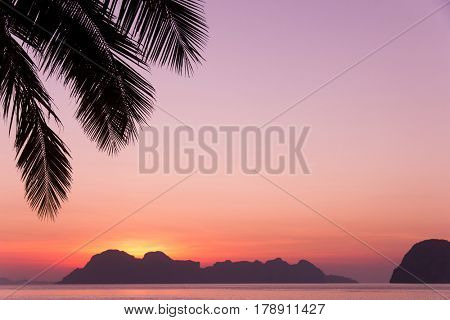 Evening Scene Sunset Divine