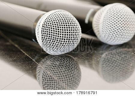 Close up microphones