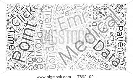 MT and EMR Software text background word cloud concept