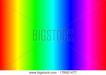 Classic color spectrum rgb, line gradient. Vector