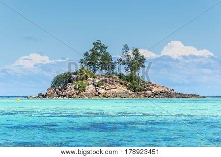 Little granite Mouse island (Ile de Souris) Anse Royal island of Mahe Seychelles Africa Indian Ocean