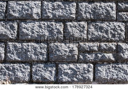 Sandstone Bricks Wall With Vignette. Wall - Building Feature, Brick, Brick Wall, Stone Wall, Textured Effect.