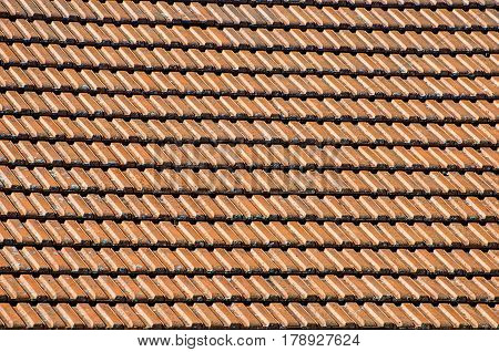 Tile Roofs, Patterns. Roof, Roof Tile, Brick, Built Structure, Material.